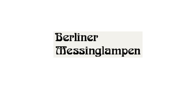 Berliner Messing Lampen